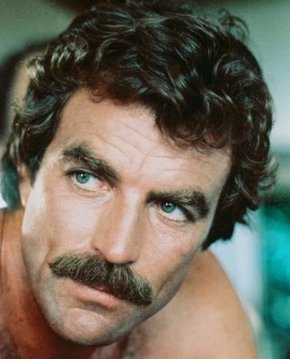A very robust moustache.  Tom Selleck has won many a duel using only his moustaache.
