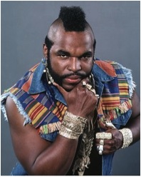 Some gentleman like tea so much they changed their names to it. Not Mr. T though, he's called Mr. T because his real name is Laurence Tureaud.