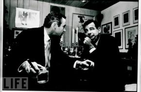 Jack Lemmon and Walter Matthau can put aside their life long feud to sit down and have a drink around Christmas.