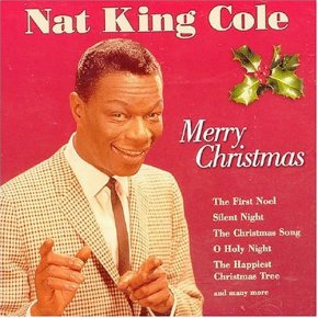 Nat King Cole sings Christmas classic including 'The First Noel', 'Silent Night' and 'and many more'.