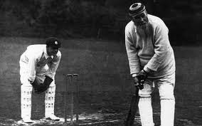 """""""Skill"""", """"technique"""" and """"footwork"""" were optional for the cricketing gentleman during the 'gentleman's era."""