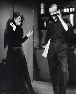 """Fred Astaire and Audrey Hepburn audition for """"Gone With The Wind"""".  They both didn't get the part."""