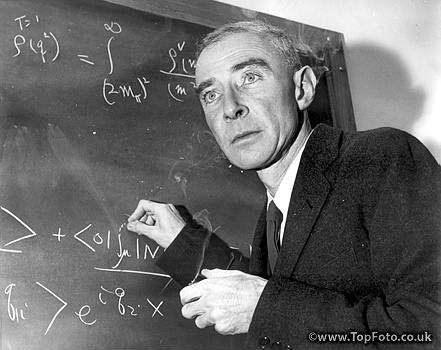 of J Robert Oppenheimer