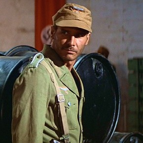 Harrison Ford knew one or two things about fighting Nazis.  Unfortunately it took him a little while to work out that you should always take the uniform of a high ranking Nazi not the common brown shirts (pictured)